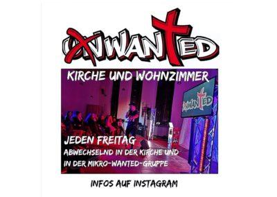 Wanted Teeniekirche (Freitag)